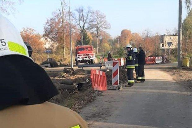 Akcja strażaków w Nowych Jaroszowicach