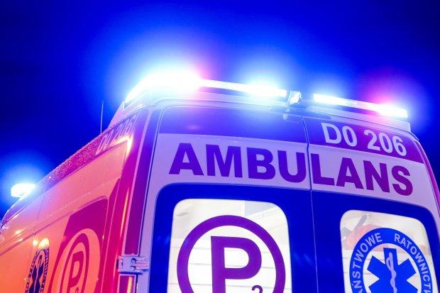 Akcja straży pożarnej w Zabłociu. Jedna osoba podtruła się czadem
