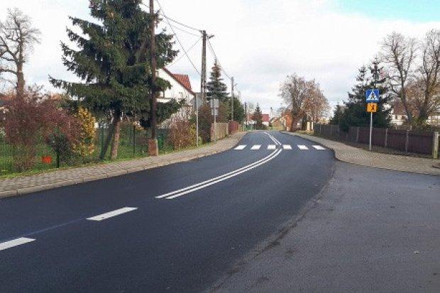 Droga w Wierzbowej przebudowana