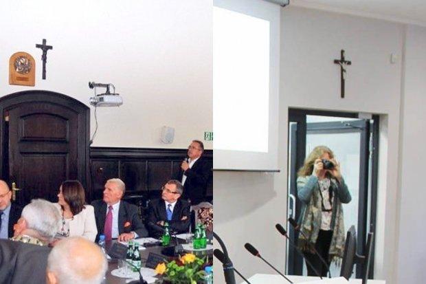 Więcej krzyży w bolesławieckich urzędach niż w niejednym kościele
