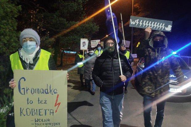 Gromadka znów protestuje!