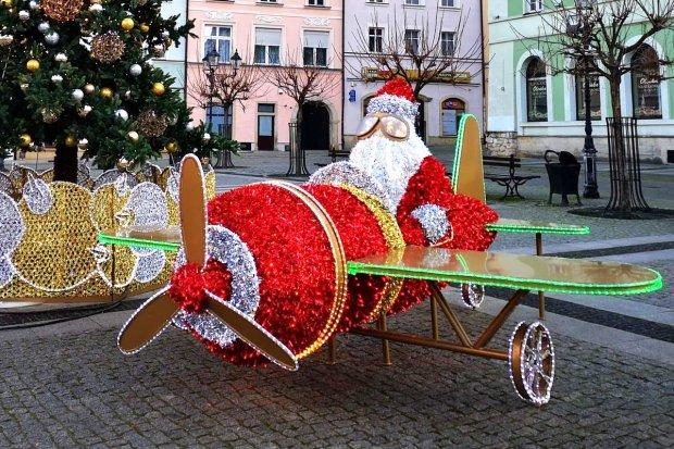 Mikołaj wylądował na bolesławieckim rynku