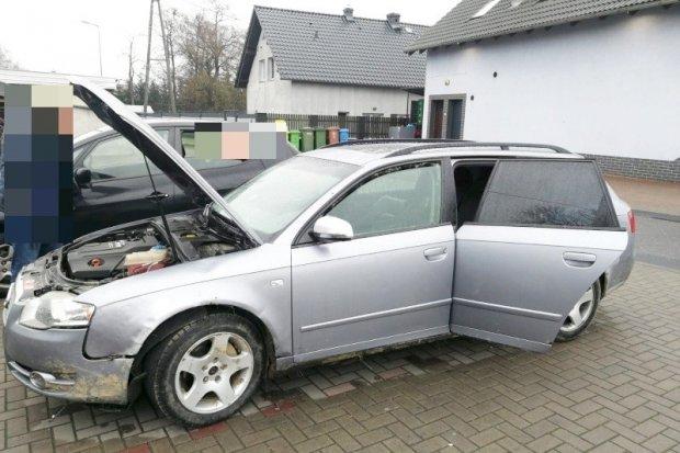 Policjanci odzyskali samochód i zatrzymali podejrzaną o jego kradzież kobietę