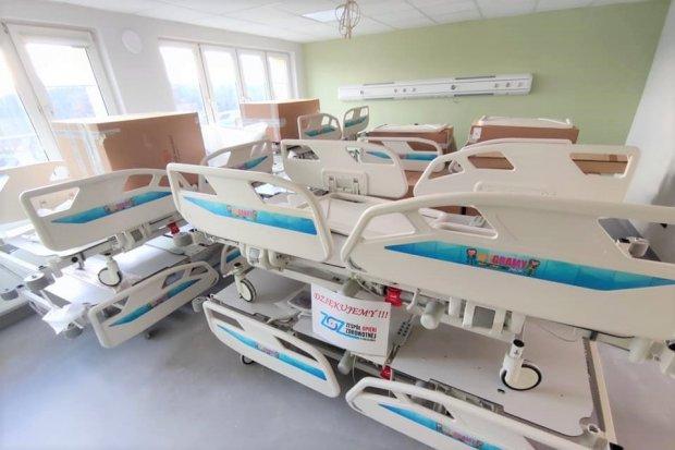 Łóżka od WOŚP trafiły do bolesławieckiego szpitala