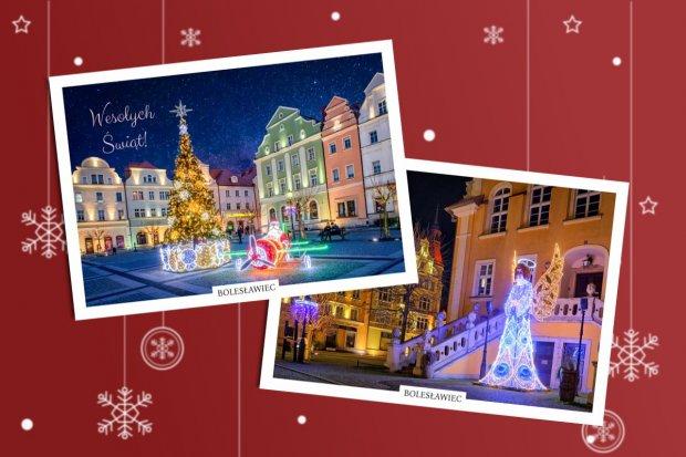 Dwie nowe świąteczne pocztówki z Bolesławca już w sprzedaży