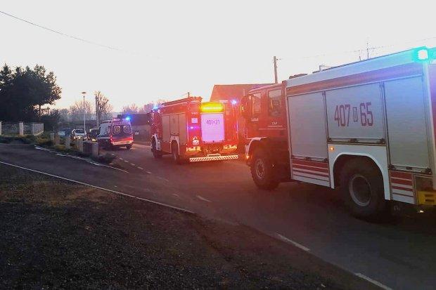 Zderzenie dwóch aut w Tomaszowie