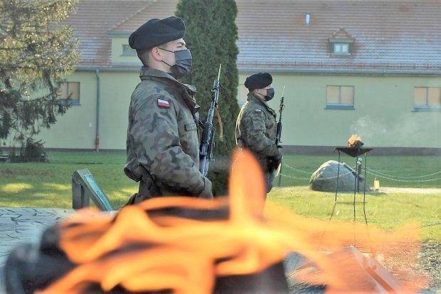 Artylerzyści pamiętają o poległych na misjach