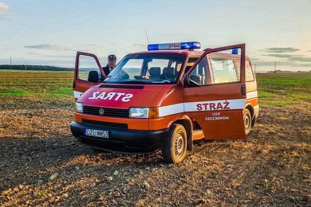 Okradli strażaków ze sprzętu ratowniczo-gaśniczego! Pomagamy!