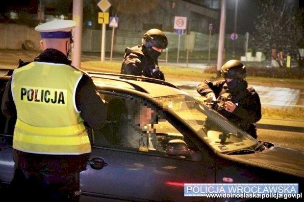 """Akcja dolnośląskiej policji pod kryptonimem """"Samochód"""""""