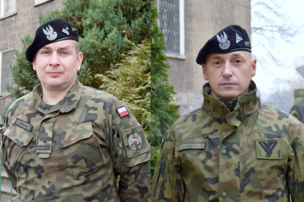 Żołnierze z bolesławieckiej jednostki z tytułami Oficera i Podoficera Roku 2020