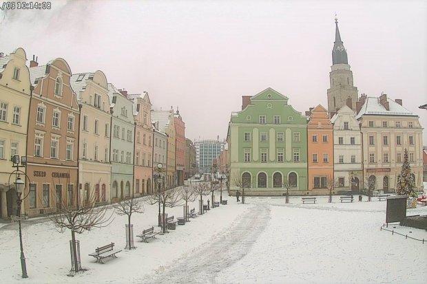 Zima zawitała do Bolesławca