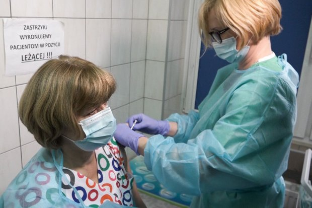 Ruszyła akcja szczepienia w bolesławieckim szpitalu