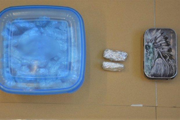 Poszukiwany diler wpadł z dużą ilością metamfetaminy i marihuany