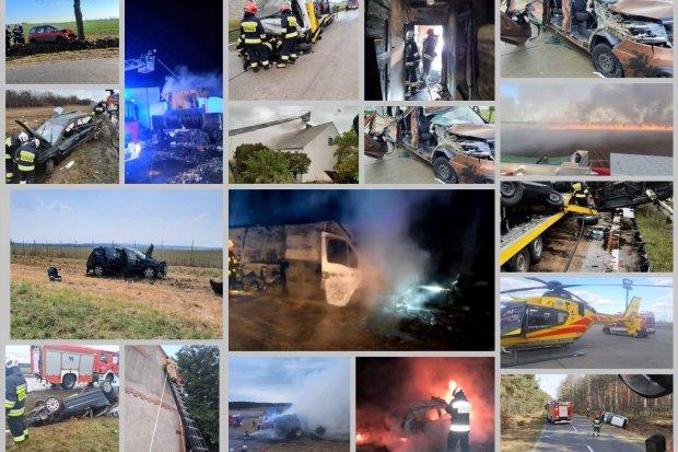 Pożary, wypadki, podtopienia, szerszenie. Strażacy z Różyńca podsumują miniony rok