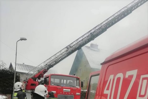 Pożar w Nowogrodźcu