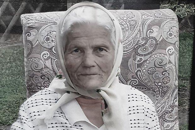 Zmarła babcia Erika Mizerska z Ławszowej