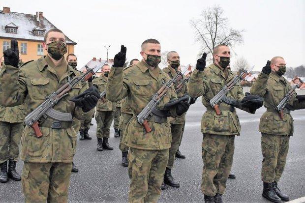 23 Śląski Pułk Artylerii: elewi ślubowali