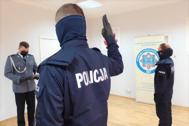 Kolejni bolesławieccy policjanci złożyli ślubowanie