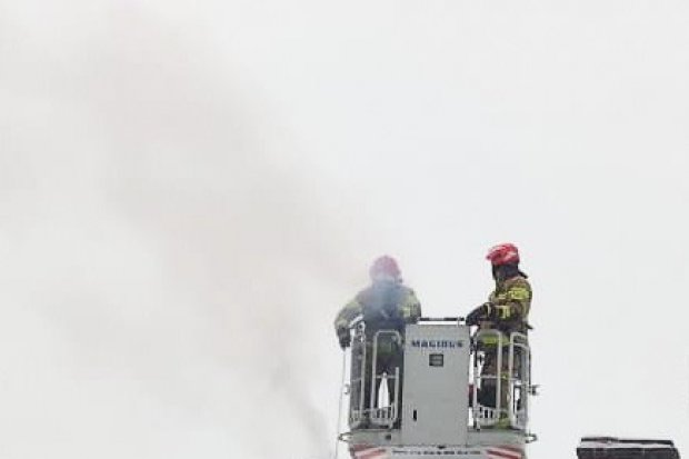 Pożar w Modle