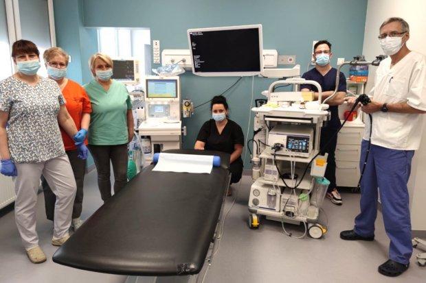 Nowatorski zabieg endoskopowy w bolesławieckim szpitalu