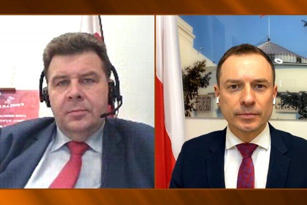 Robert Obaz z Wiosny i Piotr Borys z Platformy o aborcji i wyborach