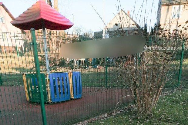 Zakaz wstępu na plac zabaw w Raciborowicach nie dotyczy młodzieży?