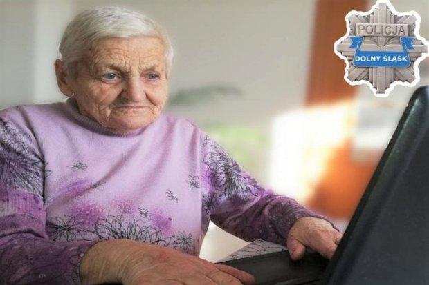 Policja: będzie kolejne spotkanie online dla seniorów