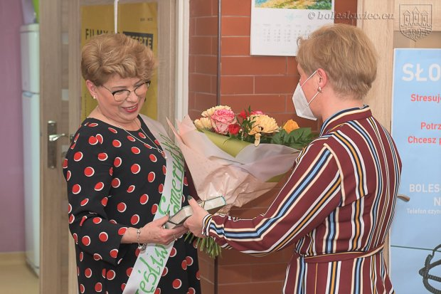 Pożegnali Ewę Słoninę, szefową I Środowiskowego Domu Samopomocy w Bolesławcu
