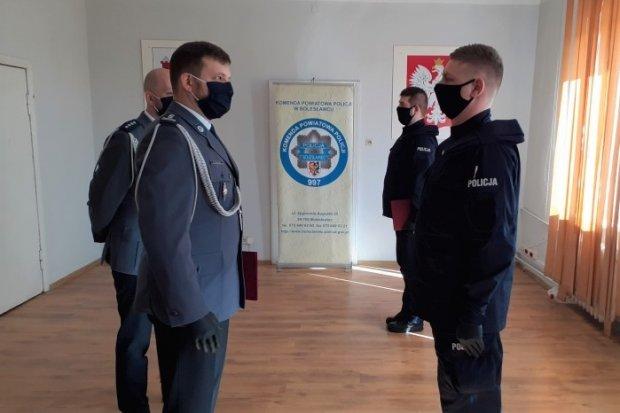Dwóch nowych policjantów w Bolesławcu