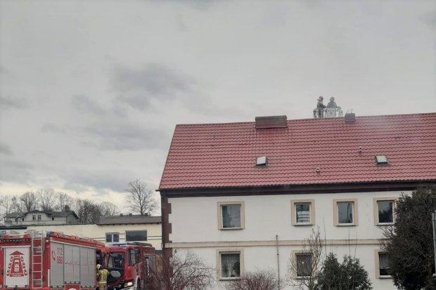 Pożar w Kruszynie