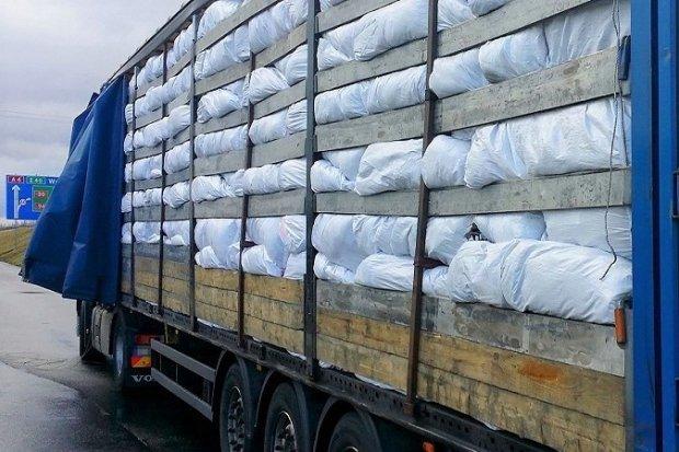 A4: Zatrzymali nielegalny transport 20 ton odpadów z Holandii