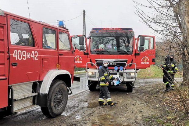Strażacy wspierają działania rządu w walce z pandemią