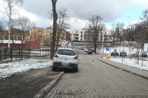 Problem ze Ślusarską w Bolesławcu