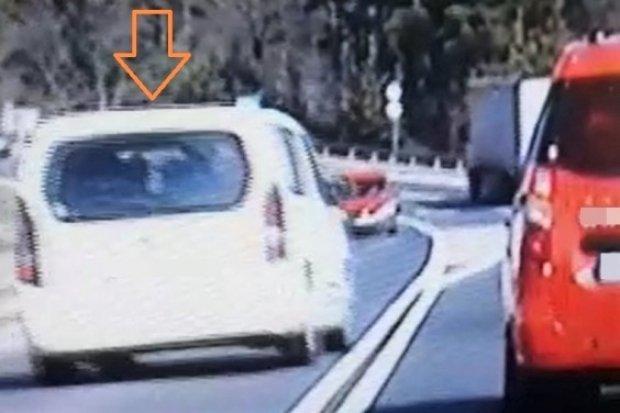 23-latek dostał 900 zł mandatu za niebezpieczny manewr drogowy
