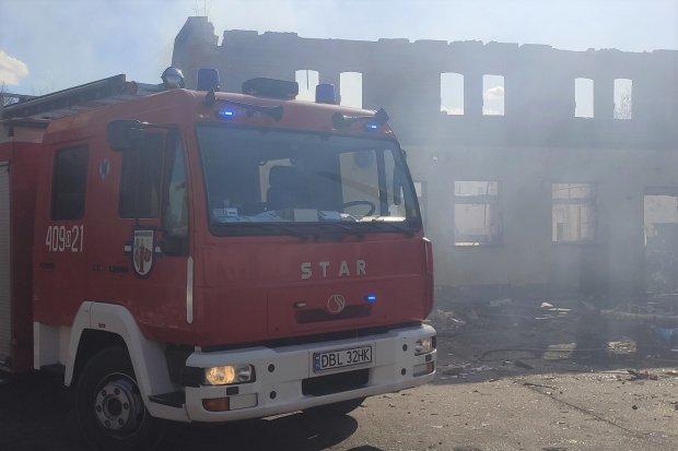 Nowogrodziec: pożar w Wielkanoc. Ponownie w tym samym miejscu