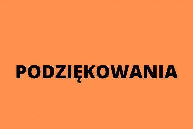 Aneta Leszczyńska dziękuje za kondolencje