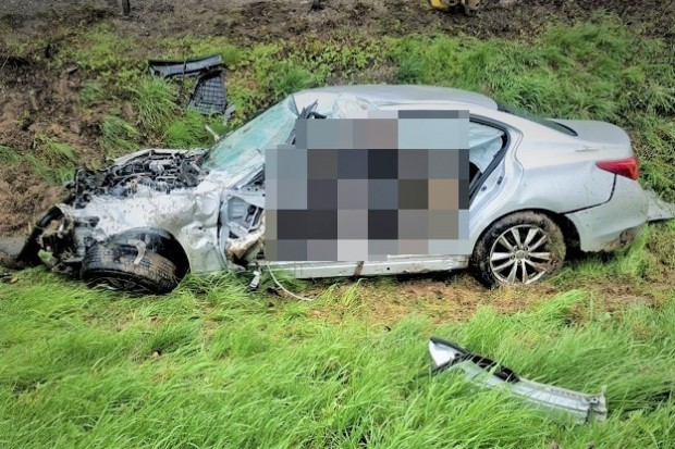 Śmiertelny wypadek na A4. Kierowca i pasażer zginęli na miejscu