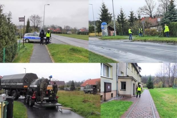 Niewybuch w Osiecznicy. Ewakuowano 75 mieszkańców
