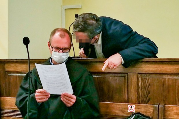 Rozprawa radnego Dariusza F. Zeznania męża poszkodowanej były mocne
