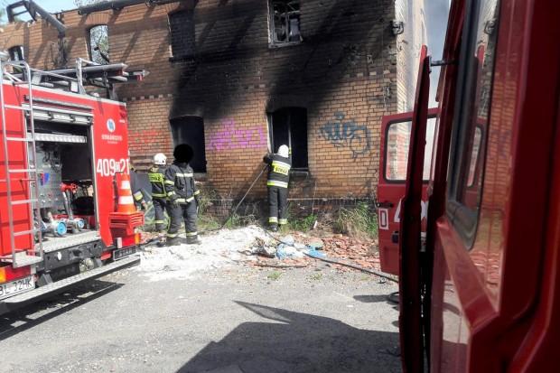 Kolejny pożar w Nowogrodźcu, i to znów w tym samym miejscu