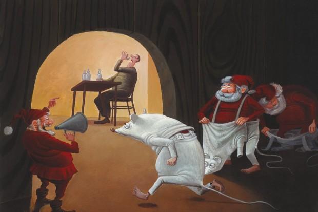 Świetna wystawa rysunku satyrycznego w Bolesławcu