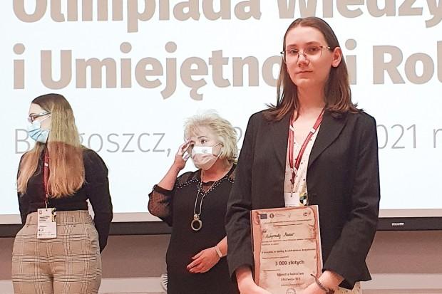 """Wielki sukces Małgorzaty Mazur z bolesławieckiej """"Budowlanki"""""""