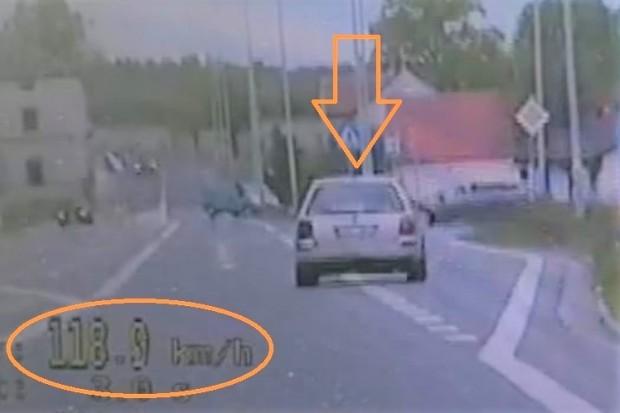 Pijany kierowca wmawiał drogówce, że piratował, bo... choruje na cukrzycę