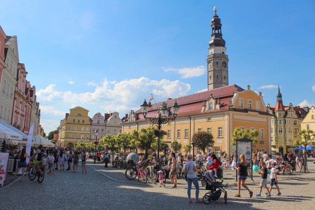 Bolesławiecki rynek znowu tętni życiem