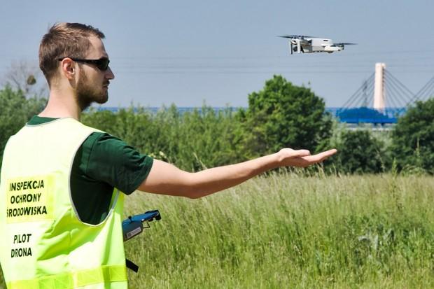 Inspekcja Ochrony Środowiska: będą kontrole za pomocą dronów
