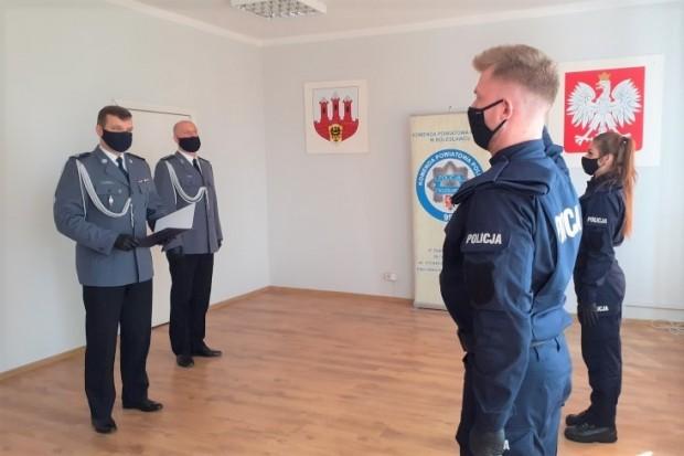 Nowi policjanci w bolesławieckiej jednostce