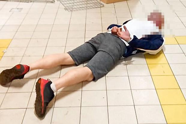 Ukradł terminal, próbował go użyć w Biedronce. Doszło do bójki. 37-latek zatrzymany