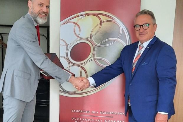 Miasto Bolesławiec docenione przez ministra kultury i generalnego konserwatora zabytków