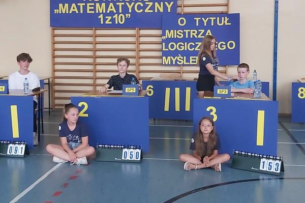 W Szkole Podstawowej nr 3 zorganizowano międzyszkolny konkurs matematyczny