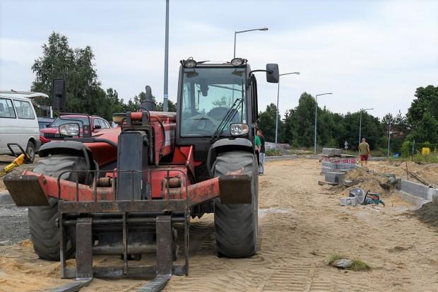 Intensywne roboty budowlane przy Ptasiej w Bolesławcu
